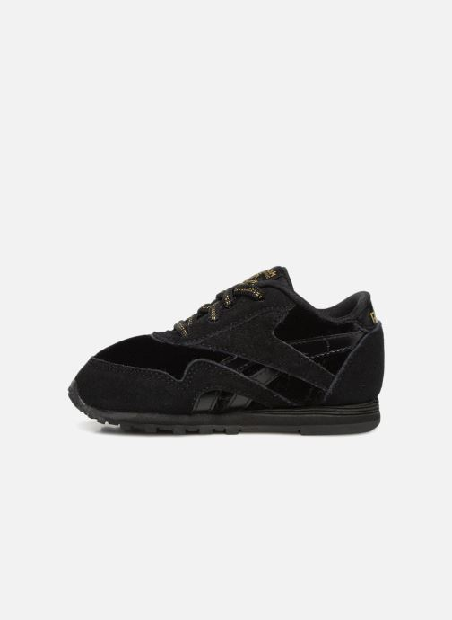 Baskets Reebok Cl Nylon I Noir vue face