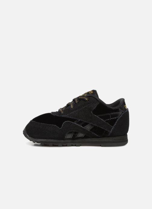 Sneakers Reebok Cl Nylon I Nero immagine frontale