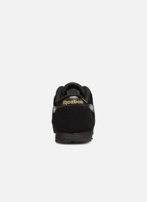 Sneakers Reebok Cl Nylon I Zwart rechts