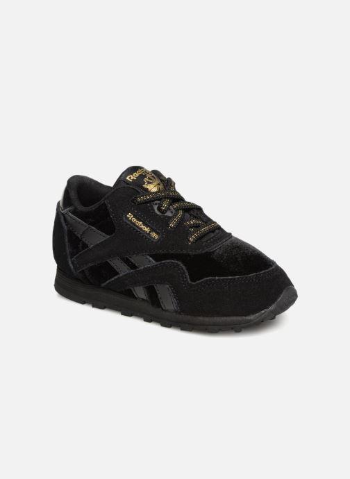 Sneakers Reebok Cl Nylon I Zwart detail