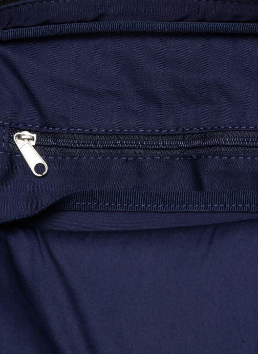 Herrentaschen Lacoste GAEL M FLAT CROSSOVER BAG schwarz ansicht von hinten