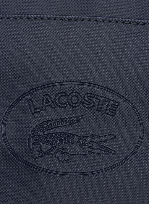 Sacs homme Lacoste 1930'S ORIGINAL  VERTICAL CAMERA BAG Bleu vue gauche