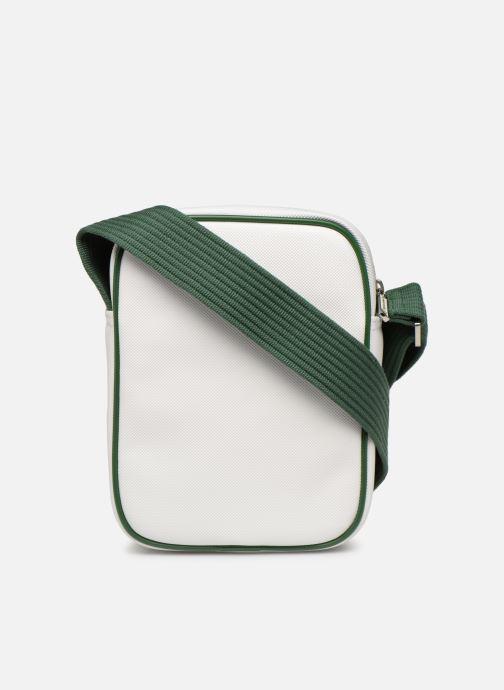 Sacs homme Lacoste 1930'S ORIGINAL VERTICAL CAMERA BAG Blanc vue face