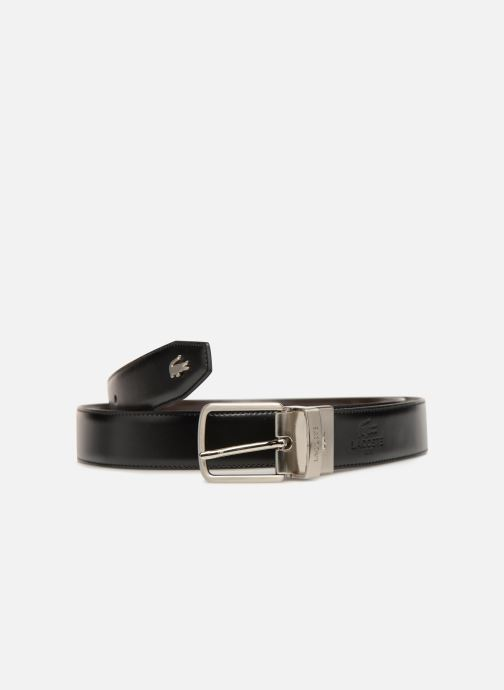 Riemen Lacoste 30 reversible stitched Zwart detail