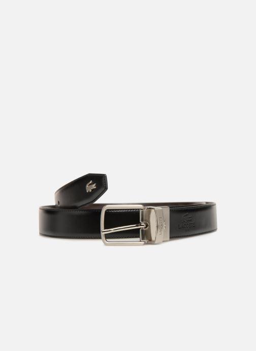 Cinturones Lacoste 30 reversible stitched Negro vista de detalle / par