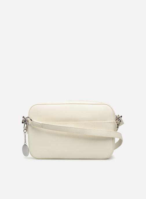 Sacs à main Lacoste DAILY CLASSIC SQUARE CROSSOVER BAG Blanc vue face