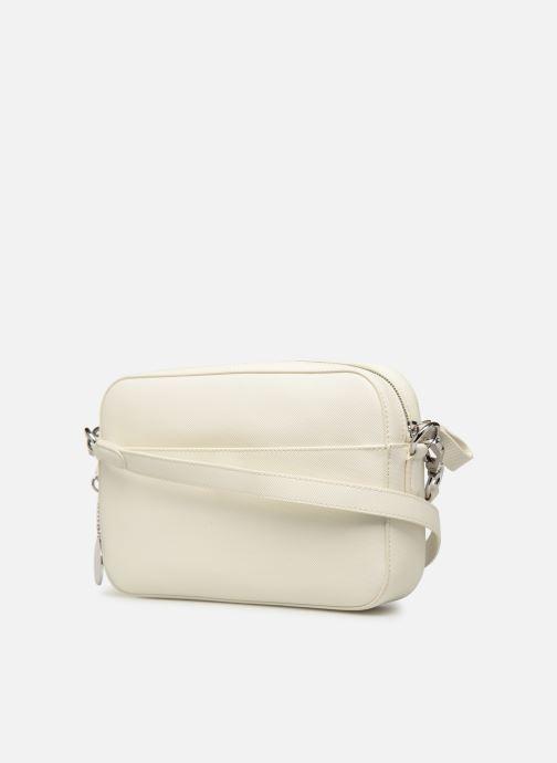 Sacs à main Lacoste DAILY CLASSIC SQUARE CROSSOVER BAG Blanc vue droite