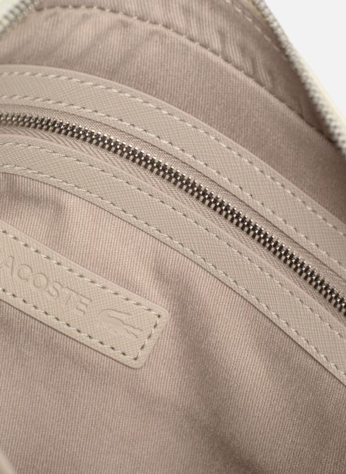 Sacs à main Lacoste DAILY CLASSIC SQUARE CROSSOVER BAG Blanc vue derrière