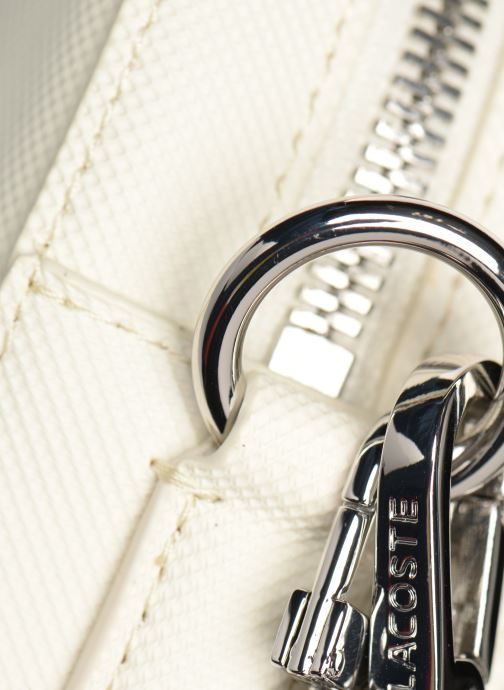 Sacs à main Lacoste DAILY CLASSIC SQUARE CROSSOVER BAG Blanc vue gauche