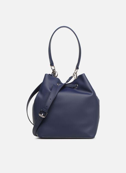 Sacs à main Lacoste DAILY CLASSIC BUCKET BAG Bleu vue face