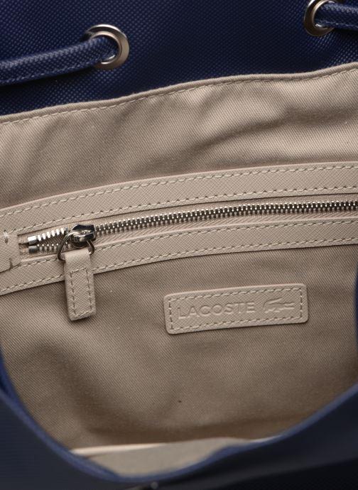 Sacs à main Lacoste DAILY CLASSIC BUCKET BAG Bleu vue derrière