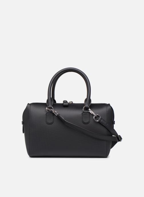 Sacs à main Lacoste DAILY CLASSIC  BOSTON BAG Noir vue face