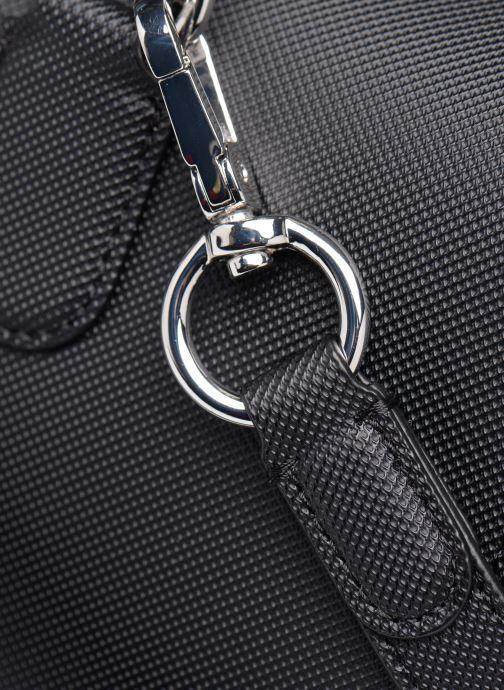 Sacs à main Lacoste DAILY CLASSIC  BOSTON BAG Noir vue gauche