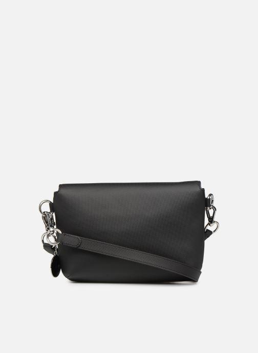 Sacs à main Lacoste DAILY CLASSIC  S CROSSOVER BAG Noir vue face