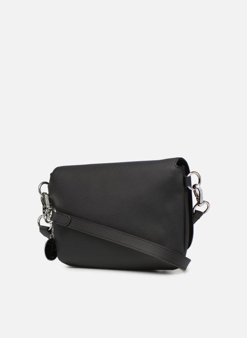 Sacs à main Lacoste DAILY CLASSIC  S CROSSOVER BAG Noir vue droite
