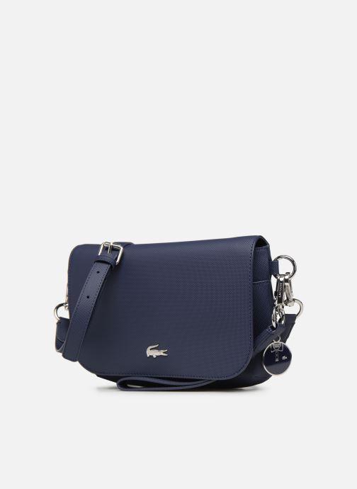 Sacs à main Lacoste DAILY CLASSIC S CROSSOVER BAG Bleu vue portées chaussures