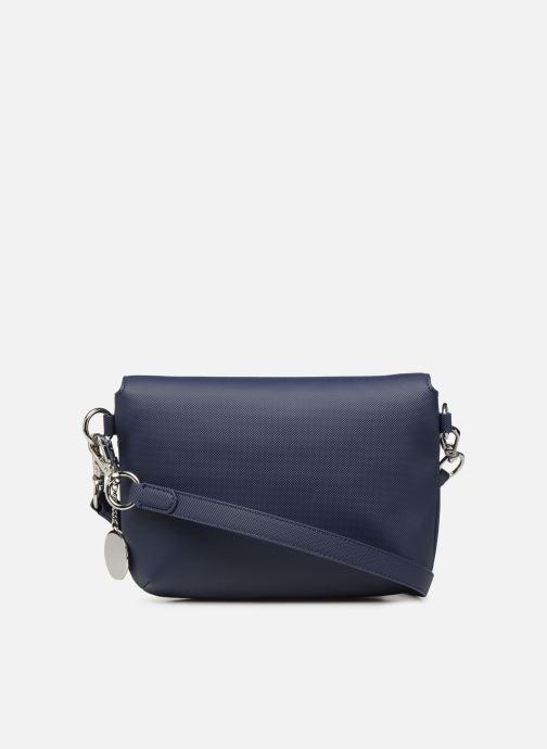 Sacs à main Lacoste DAILY CLASSIC S CROSSOVER BAG Bleu vue face