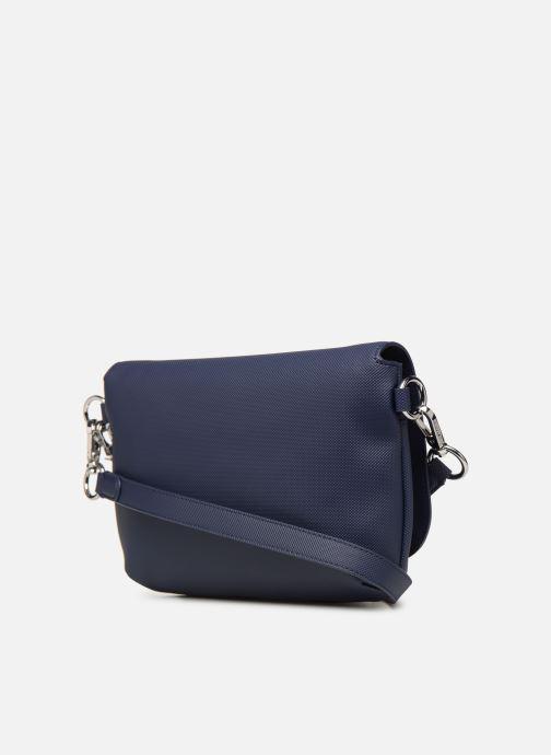 Sacs à main Lacoste DAILY CLASSIC S CROSSOVER BAG Bleu vue droite