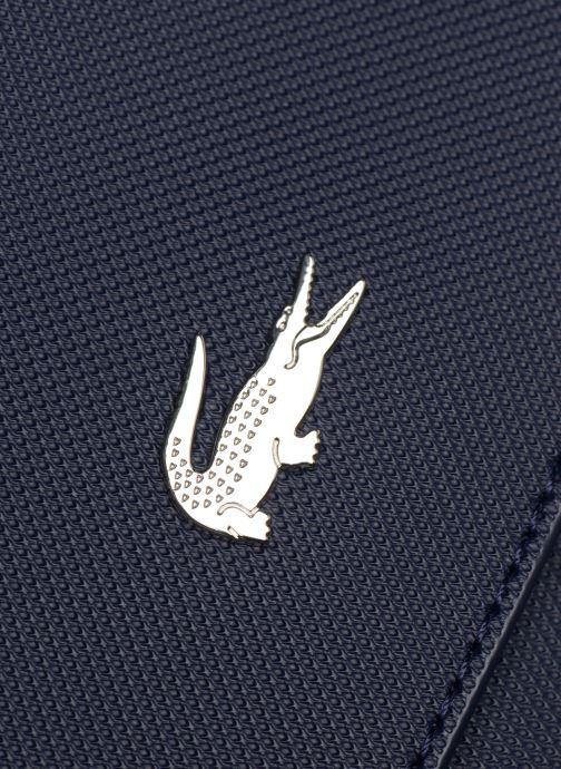 Sacs à main Lacoste DAILY CLASSIC S CROSSOVER BAG Bleu vue gauche