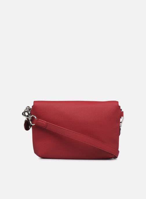 Handtaschen Lacoste DAILY CLASSIC S CROSSOVER BAG weinrot ansicht von vorne