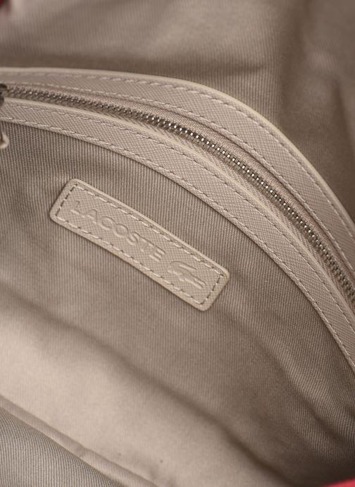 Handtaschen Lacoste DAILY CLASSIC S CROSSOVER BAG weinrot ansicht von hinten