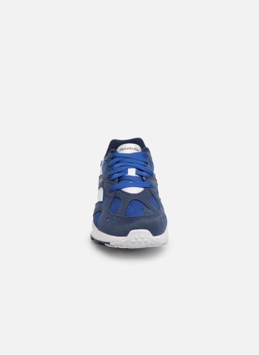 Baskets Reebok Aztrek K Bleu vue portées chaussures