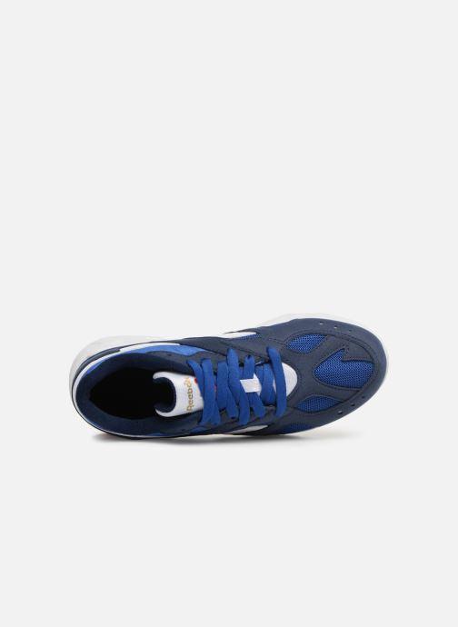 Baskets Reebok Aztrek K Bleu vue gauche