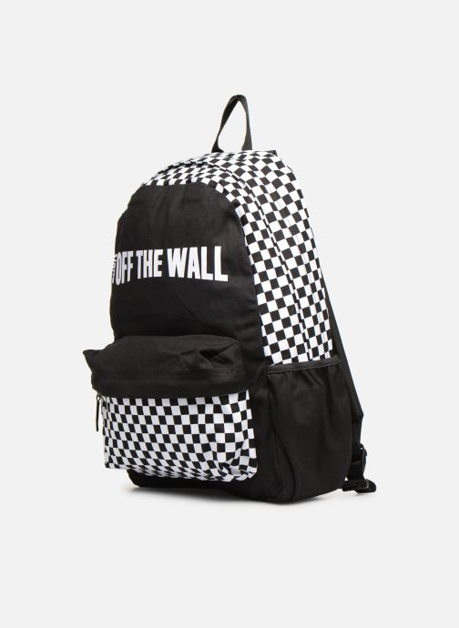 Mochilas Vans CENTRAL REALM BACKPACK Negro vista del modelo