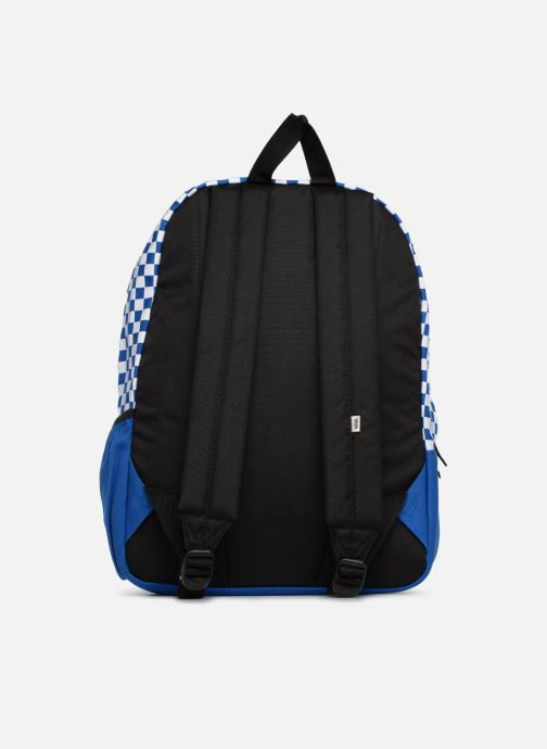 Sacs à dos Vans CENTRAL REALM BACKPACK Bleu vue face