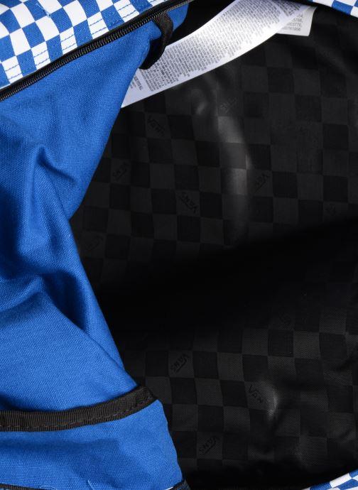 Sacs à dos Vans CENTRAL REALM BACKPACK Bleu vue derrière