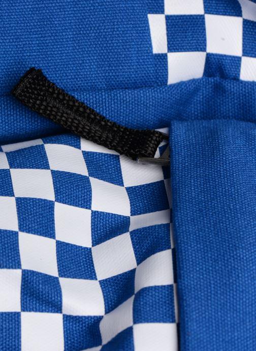 Sacs à dos Vans CENTRAL REALM BACKPACK Bleu vue gauche