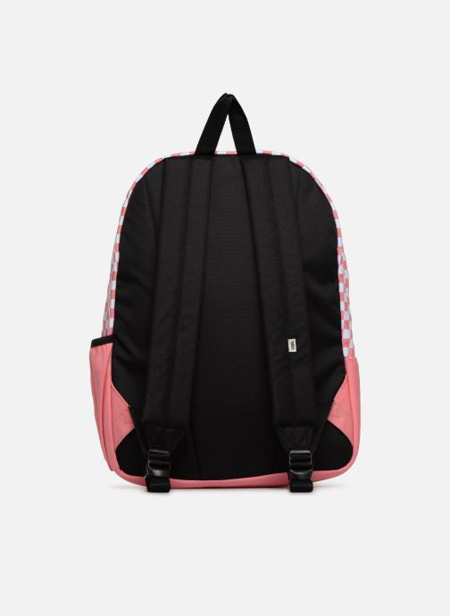 Sacs à dos Vans CENTRAL REALM BACKPACK Rose vue face