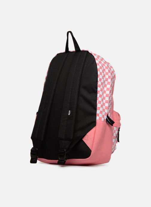 Sacs à dos Vans CENTRAL REALM BACKPACK Rose vue droite