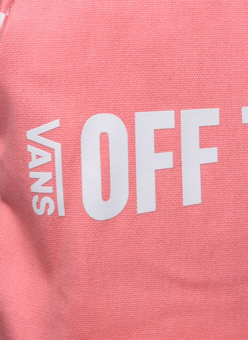 Sacs à dos Vans CENTRAL REALM BACKPACK Rose vue gauche