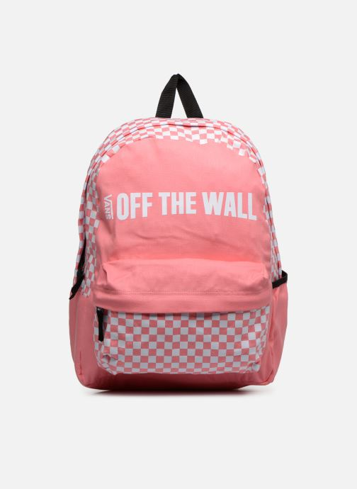 Sacs à dos Vans CENTRAL REALM BACKPACK Rose vue détail/paire