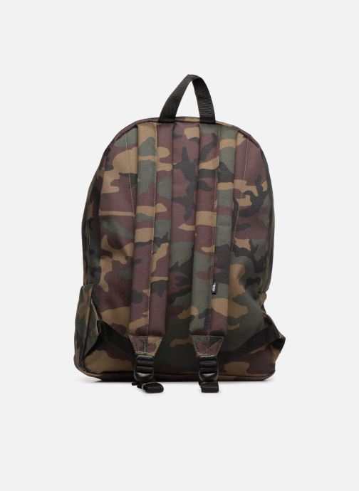 Mochilas Vans OLD SKOOL II BACKPACK Verde vista de frente