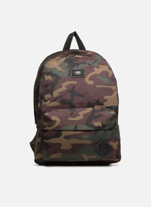 Mochilas Vans OLD SKOOL II BACKPACK Verde vista de detalle / par