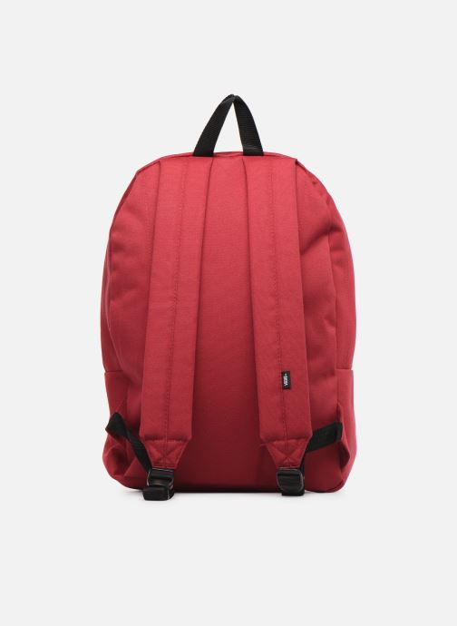 Sacs à dos Vans OLD SKOOL II BACKPACK Rouge vue face