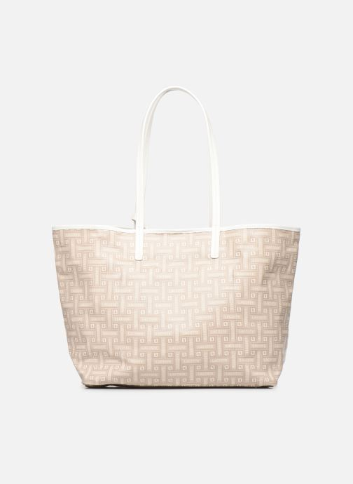 Sacs à main Lacoste CROISIERE M SHOPPING BAG Beige vue face