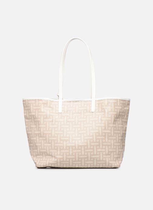 Handtaschen Lacoste CROISIERE M SHOPPING BAG beige ansicht von vorne