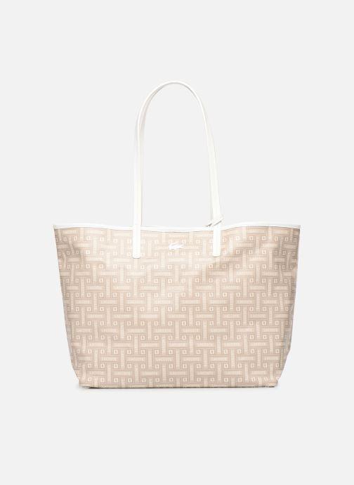 Handtaschen Lacoste CROISIERE M SHOPPING BAG beige detaillierte ansicht/modell