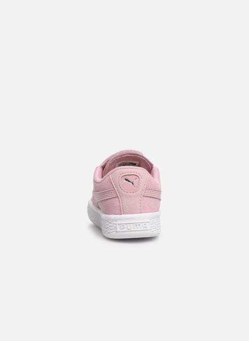 Sneakers Puma Suede Crush Rosa immagine destra