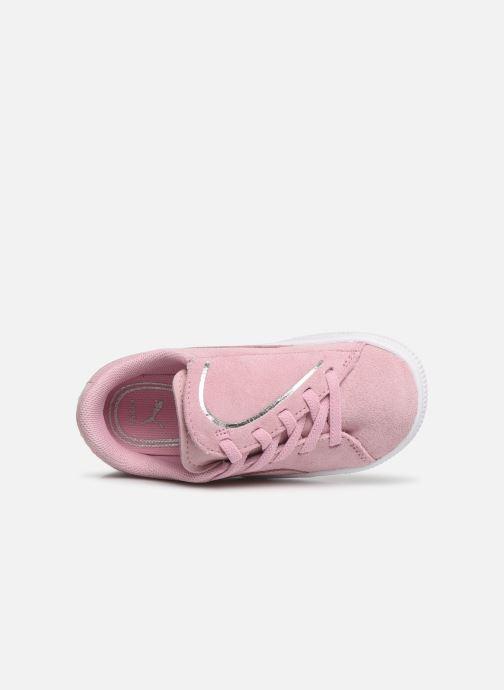 Sneaker Puma Suede Crush rosa ansicht von links