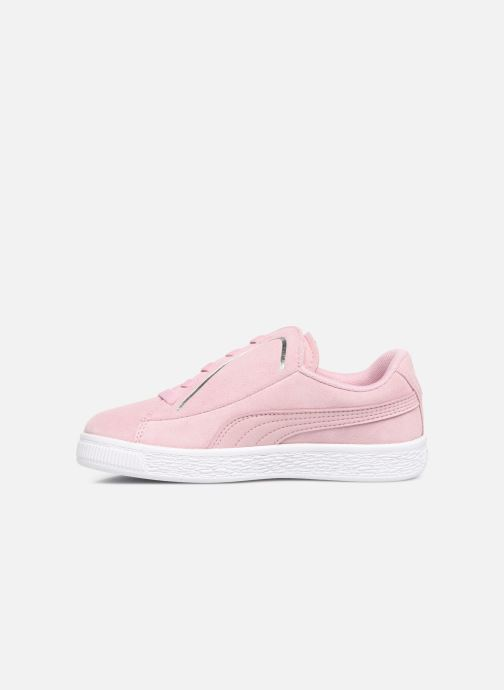 Baskets Puma JR Suede Crush Rose vue face