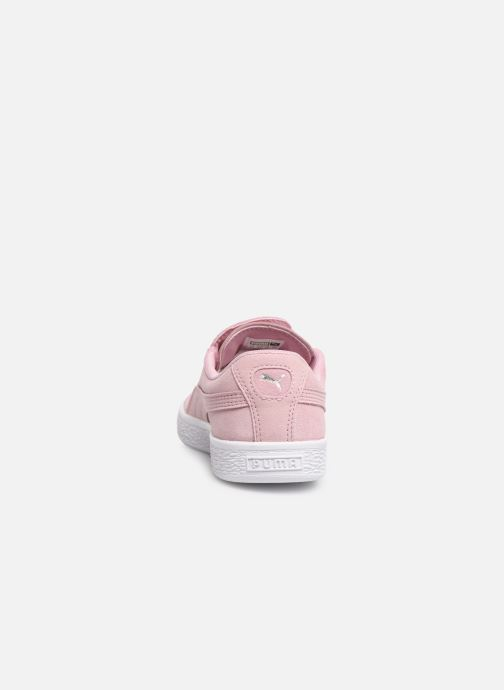 Baskets Puma JR Suede Crush Rose vue droite