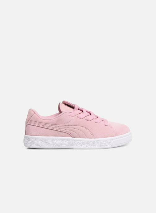 Baskets Puma JR Suede Crush Rose vue derrière