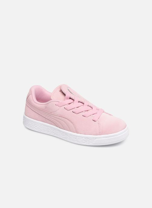 Baskets Puma JR Suede Crush Rose vue détail/paire