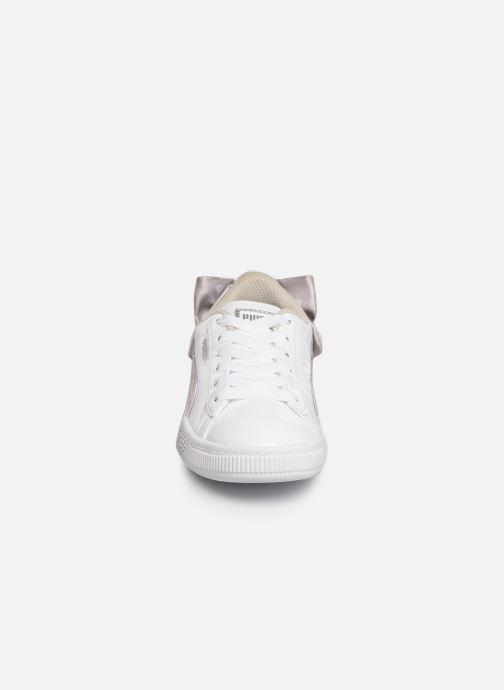 Baskets Puma Basket Bow Dots Blanc vue portées chaussures