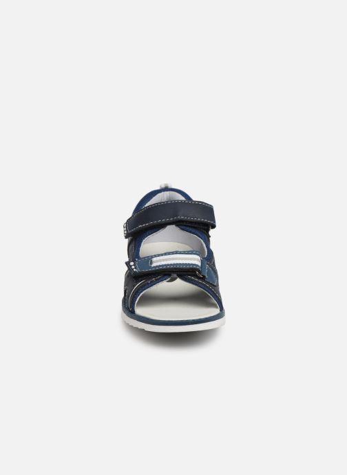 Sandalias I Love Shoes THAKO Azul vista del modelo