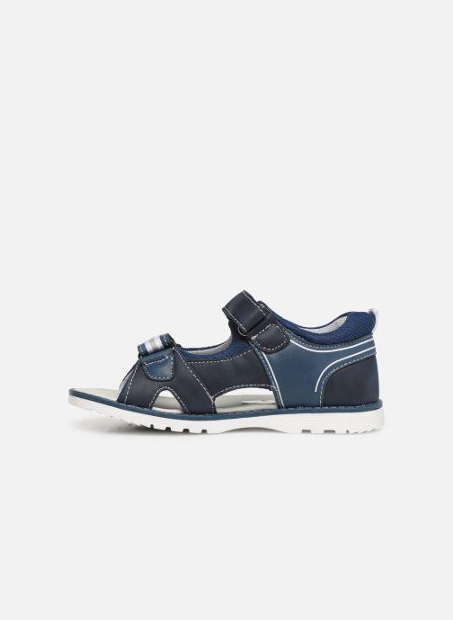 Sandalias I Love Shoes THAKO Azul vista de frente